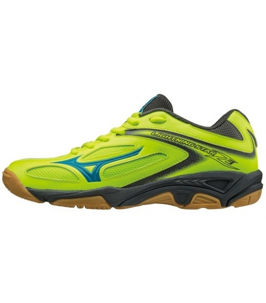 Mizuno Wave Lightning Z3 Junior Giallo Blu Nero