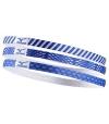 Mizuno Fasce per Capelli 3 pezzi azzurro