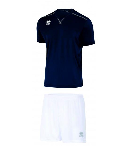 errea Kit Everton Blu Navy Bianco