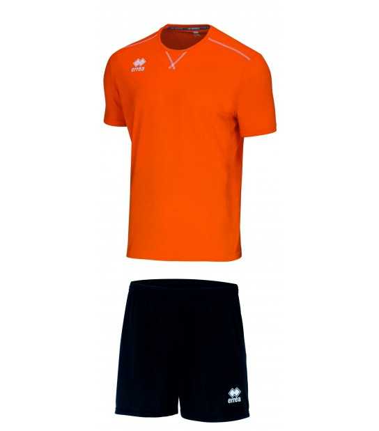 errea Kit Everton Arancio Nero