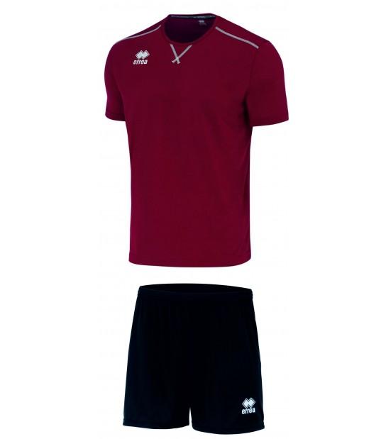 errea Kit Everton Bordeaux Nero