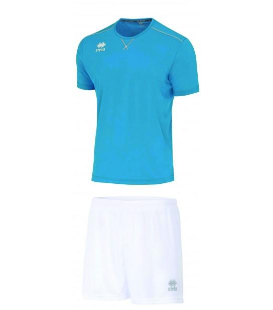 errea Kit Everton Azzurro Cyano Bianco