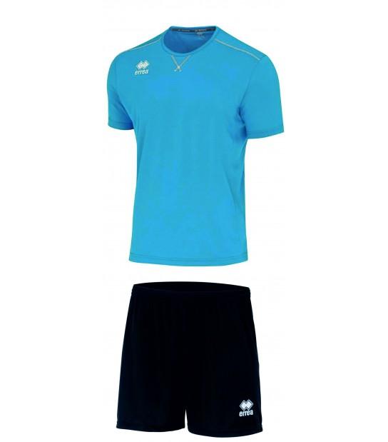 errea Kit Everton Azzurro Cyano Nero
