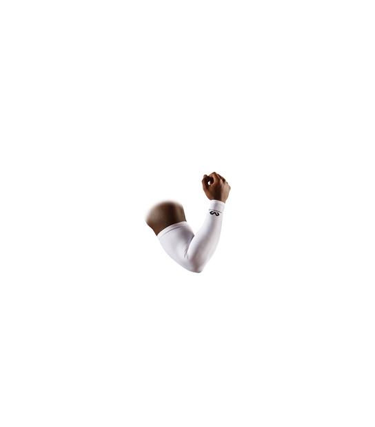 Mcdavid Compression Arm Sleeve Bianco