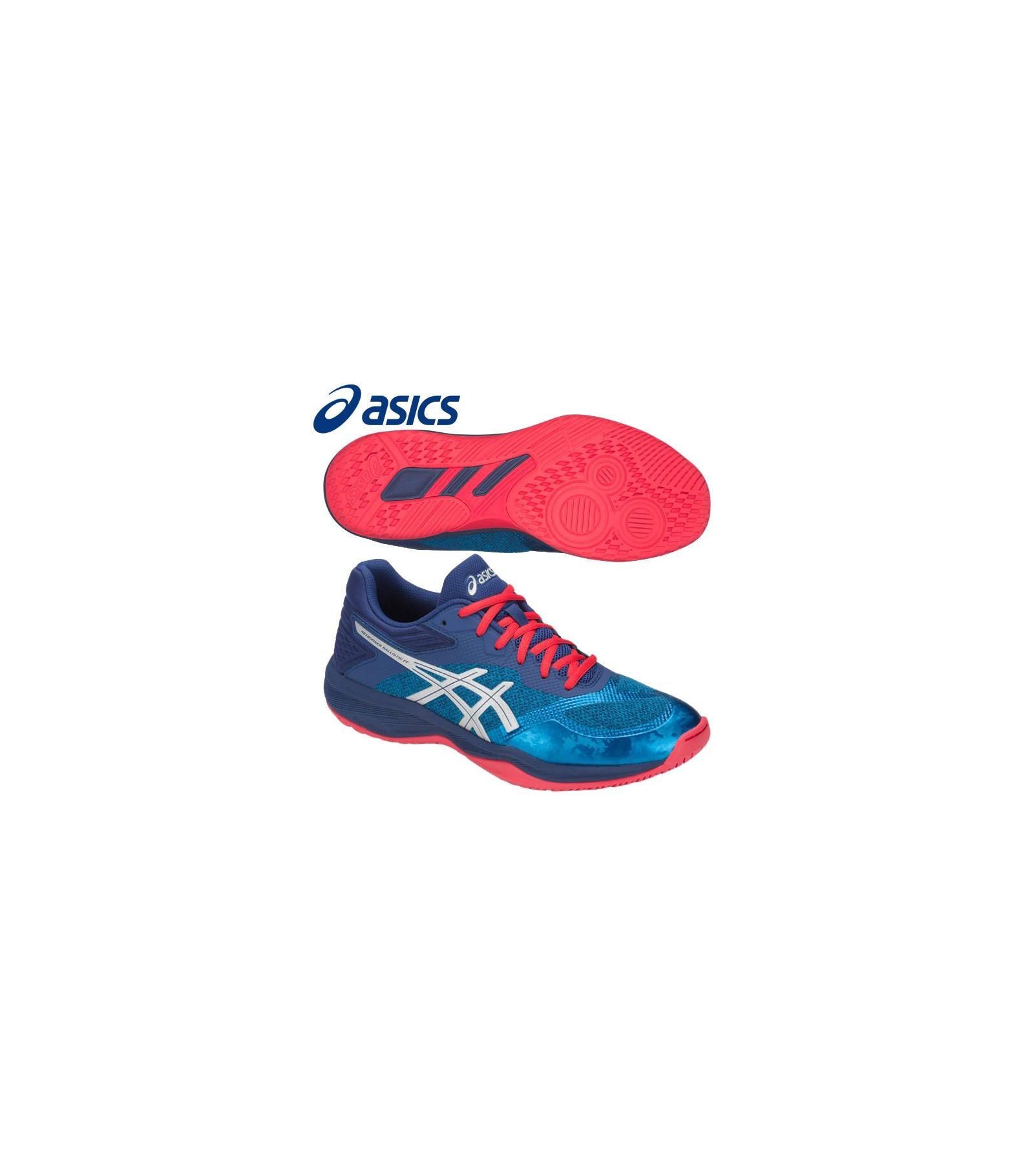 Asics Gel Netburner FF Ballistic Blu Bianco Rosso Sporting Lab