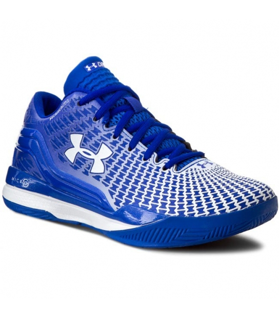 Under Armour Clut Fitch Drive Low Azzurre