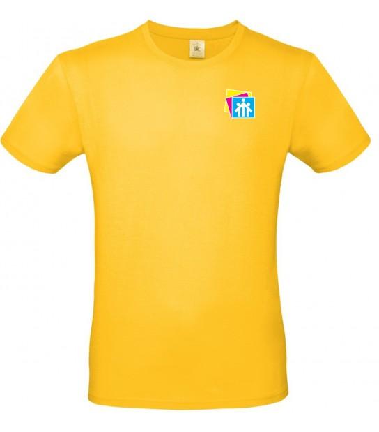 T-shirt Gialla Salesiani Firenze