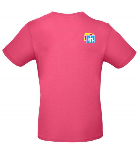 T-shirt Fucsia Salesiani Firenze