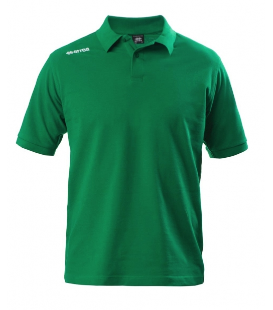 Errea Polo Team Colours Verde