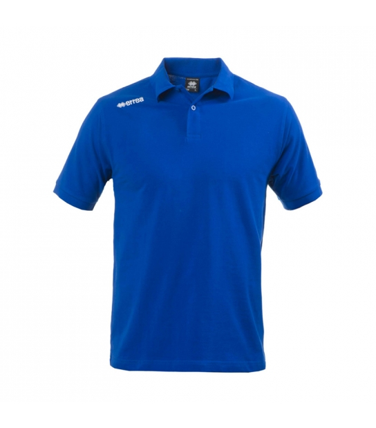 Errea Polo Team Colours Azzurra