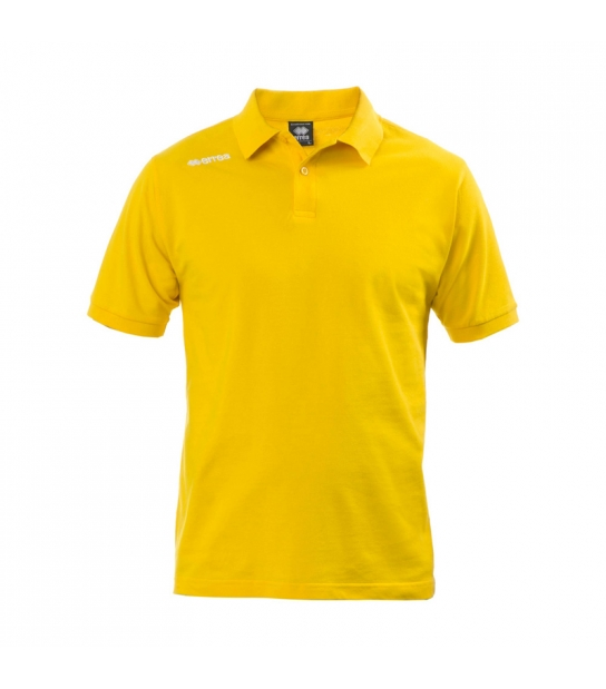 Errea Polo Team Colours Gialla