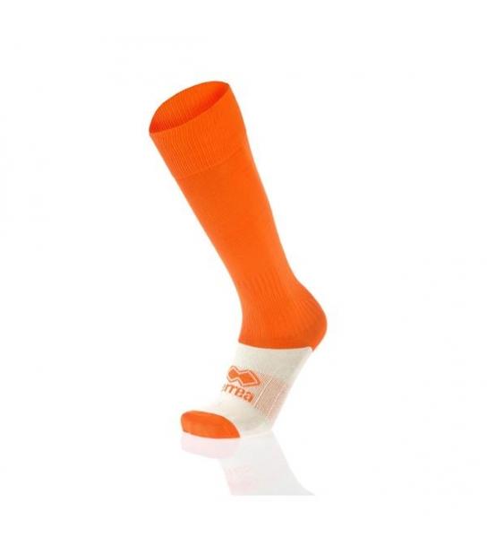errea Calza con Piede Arancio