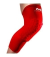 Mcdavid 6446 Hexforce Extended Leg Sleeves Rosso