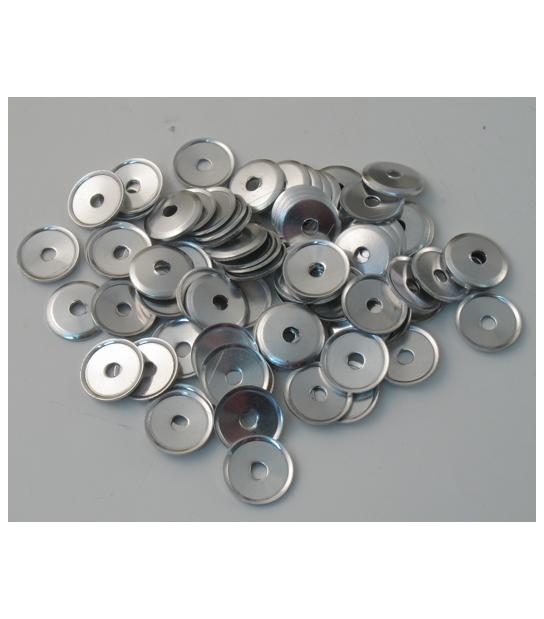 Rondelle confezione 50 Pezzi in Alluminio