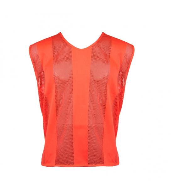 Set 10 Pettorine Arancio Fluo
